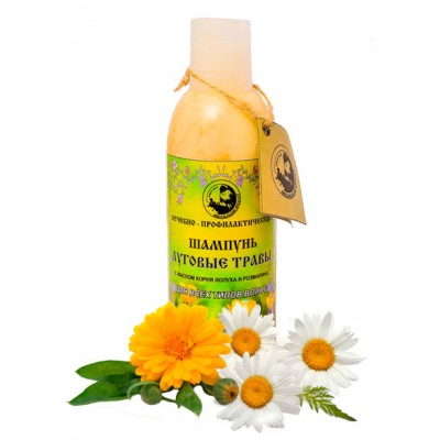 Лечебно-профилактический шампунь «Луговые травы»